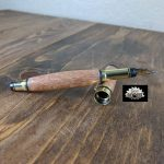 Sew Sawdust makes a lace wood fountain pen