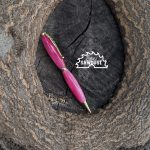 Sew Sawdust makes a hot pink acryliic pen