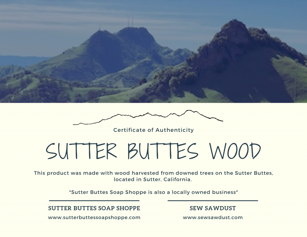 Sutter Buttes Product Line